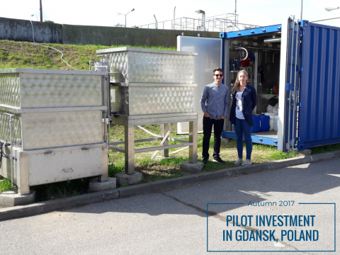 Pilot investment in Gdansk