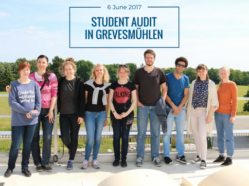 Students on Grevesmühlen WWTP