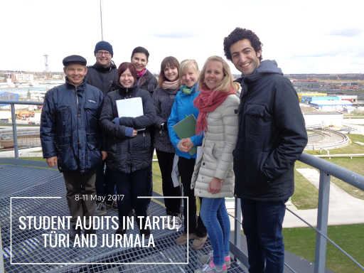 Student audit team in Tartu