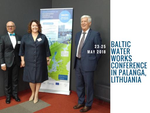 Estonian, Latvian and Lithuanian Waterworks Associations managing directors