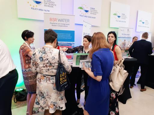 BSR WATER at EUSBSR Forum