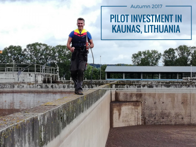 Pilot investment in Kaunas
