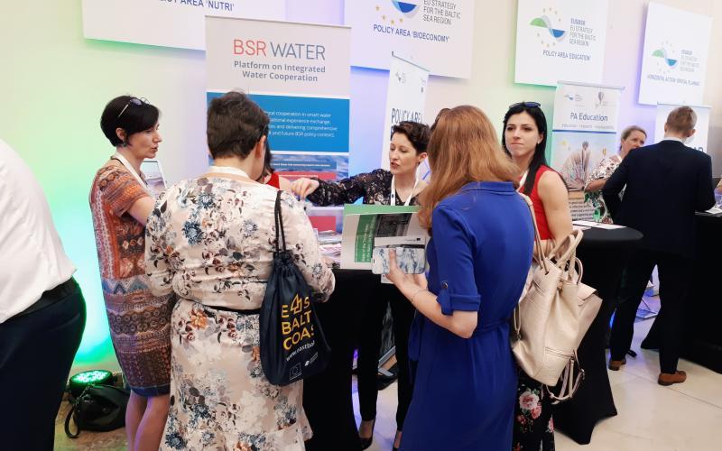 BSR WATER at EUSBSR Forum