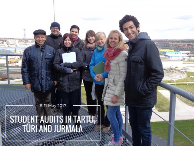 Student audit team in Tartu